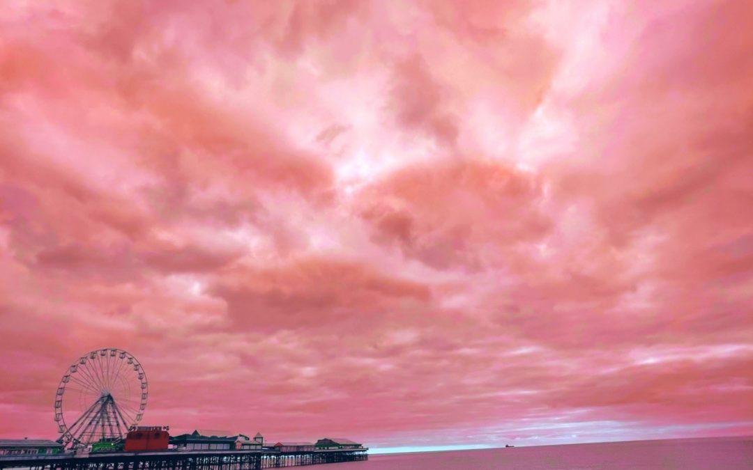 Pink Pier (Blackpool Station Artwork)