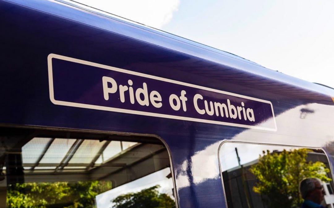 Train Naming Ceremony 'Pride of Cumbria' 01.10.21